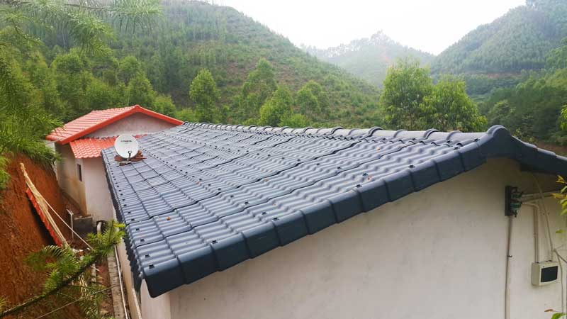 Can you repair cracked roof tiles?