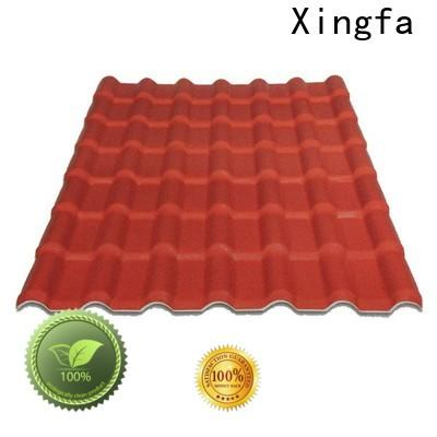 Xingfa resin roof manufacturer for residential