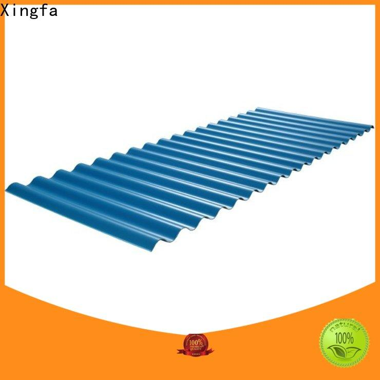 Xingfa plastic roofing sheets factory price for residential