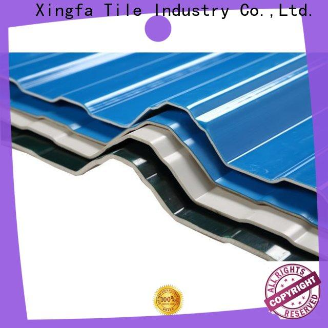 Xingfa best pvc roof sheet factory for factory