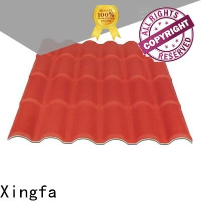 Xingfa wholesale plastic roof tile with good price for residential