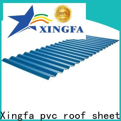 Xingfa wholesale pvc roof sheet personalized for residential