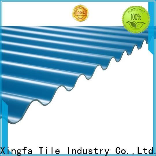 custom upvc roof sheet customized for wall panel