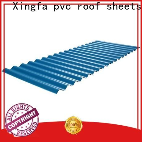 Xingfa plastic roofing sheets manufacturer for residential