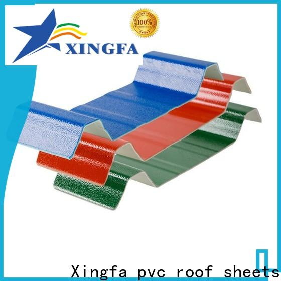 Xingfa plastic roofing sheets factory for warehouse