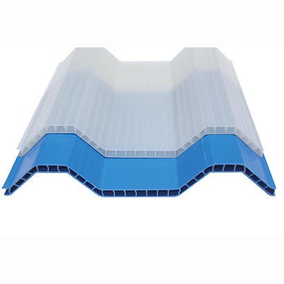PVC Translucent Hollow Roof Sheet