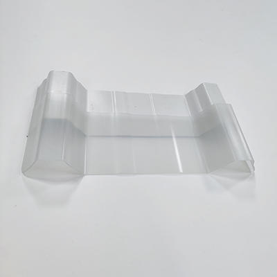 PVC Translucent Clear Corrugated Roof Sheet High Wave H1075
