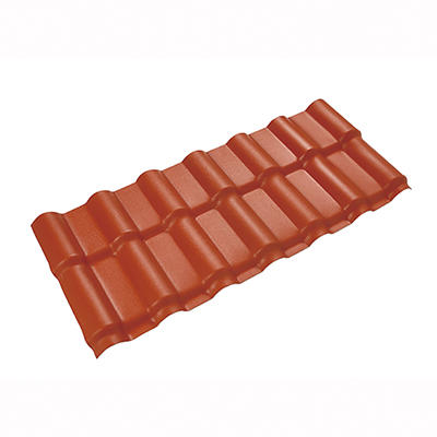 Spanish 1050-ASA PVC Corrugated Roof Sheet