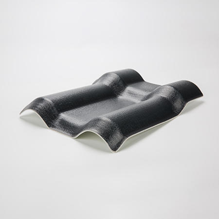 Fiber  Mesh ASA Synthetic Resin roof sheet Grey color/ Black color