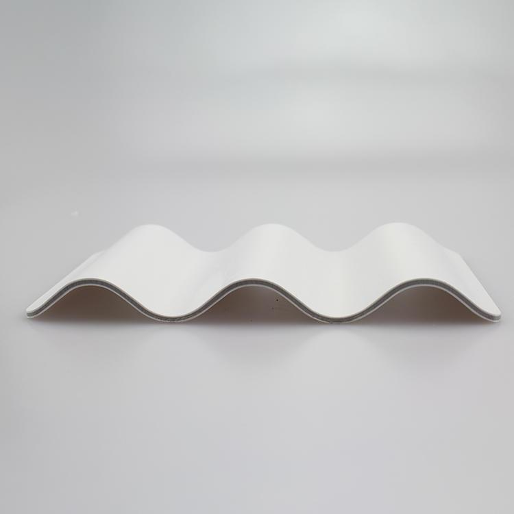 PVC corrugated roof plain tile