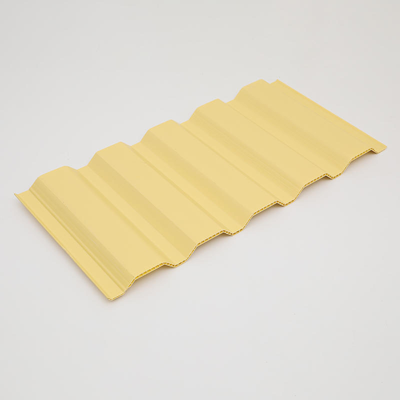 UPVC Double Wall Corrugated Roof Sheet