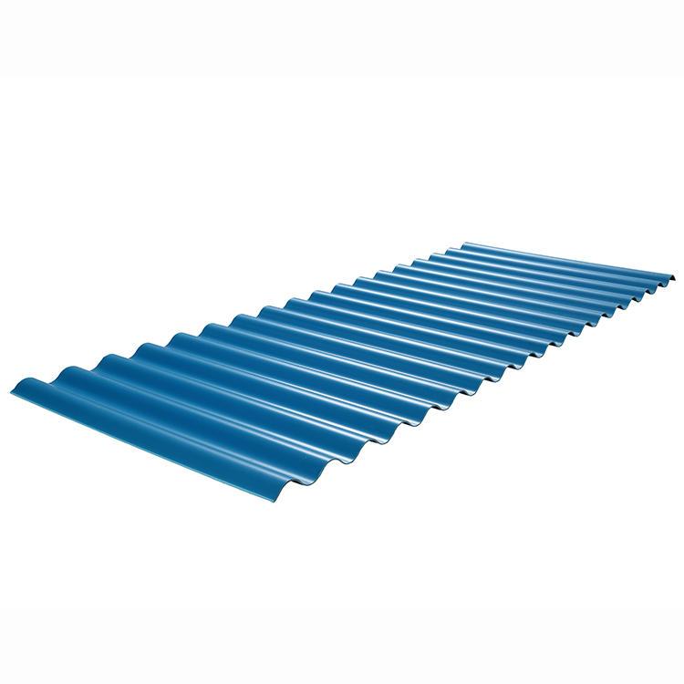 2.0MM Blue PVC corrugated Roof Sheet